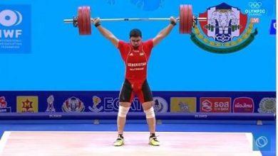 Photo of Ауыр атлет Акбар Жураев Өзбекстанға екінші алтын медальды әперді
