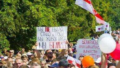 Photo of Гроднода президенттікке үміткерді он мың адам қолдады