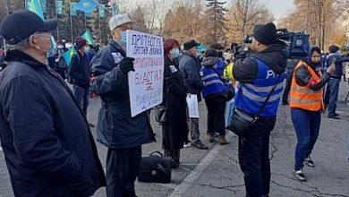 Photo of Алматыда саяси реформалар талап еткен митинг өтті