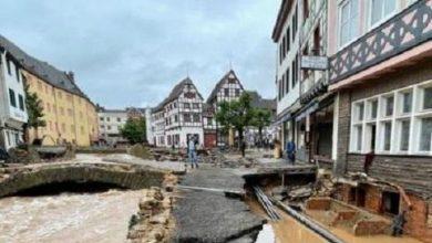 Photo of Германияда су тасқынында қаза тапқандар саны 140 адамнан асты