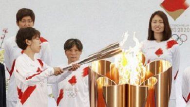 Photo of Жапонияда олимпиялық алау эстафетасы сөреден шықты