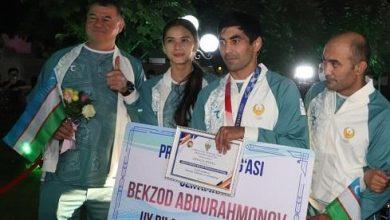 Photo of Ташкентте Өзбекстан Олимпиада жүлдегерлеріне құрмет көрсетілді