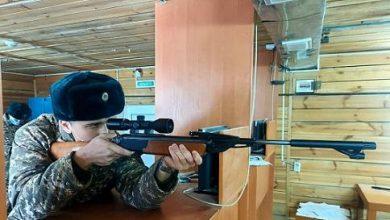 Photo of Кызылордада әскери курсанттар мергендіктен жарысты