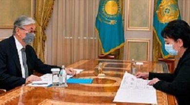 Photo of Президент Қызылорда облысының әкімін қабылдады